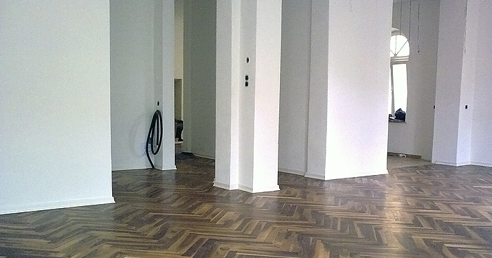 Holzboden auf Trockenestrich 2